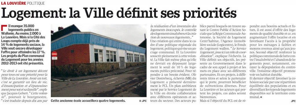 Article Nouvelle Gazette 30-11-2011
